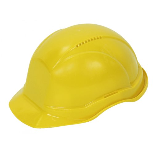 Каска защитная промышленная Универсал (Украина) желтый