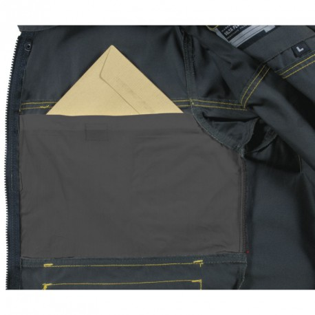 Куртка Delta Plus DMVES (Франция) серо-желтый