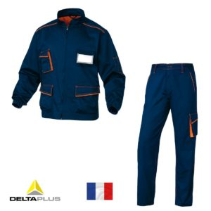 Костюм рабочий DELTA PLUS Panostyle M6 (Франция) синий-оранжевый
