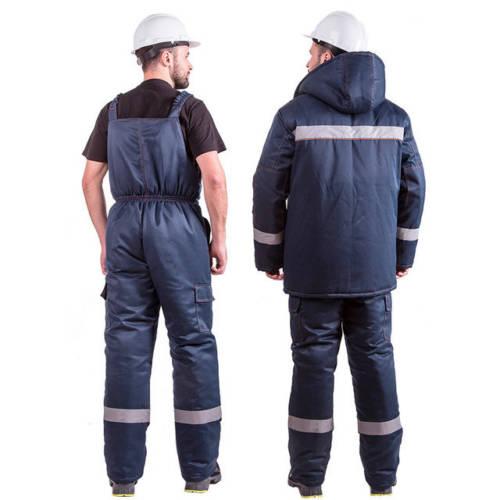 Костюм рабочий зимний EVERST (куртка + полукомбинезон)-1