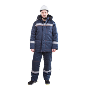 Костюм рабочий зимний EVERST (куртка + полукомбинезон)